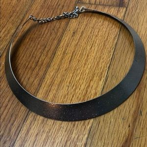Urban Outfitters silver cuff chocked